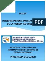 Taller de Iso 9001-2008