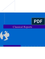 Classical Reports