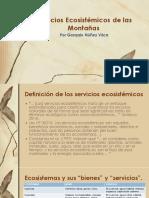 Servicios Ecosistémicos de Montañas