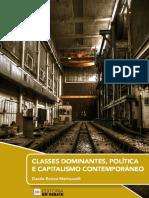 CLASSES DOMINANTES, POLÍTICA E CAPITALISMO CONTEMPORÂNEO - Danilo Enrico Martuscelli