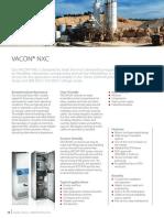Fact Sheet Vacon NXC Engineered Drive