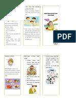 leaflet Nutrisi Pada Anak Diare
