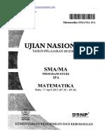Naskah Soal UN Matematika IPA SMA 2013 Paket 1.pdf