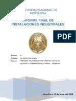 Informe Instalaciones industriales- inga