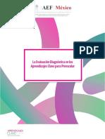 La Evaluación Diagnóstica en los Aprendizajes Clave para Preescolar.pdf