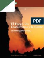 El Fuego Los Ecosistemas y La Gente