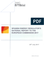 Spanish Gas and Electricity Markets 2017