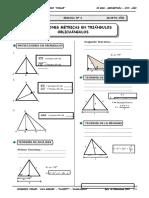 Geometria - 4to Año - Guia Nº7 - Relaciones Métricas en La c