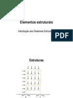 2 - Elementos estruturais