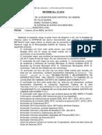 MUNI Informes a La Alcaldia