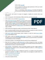 Resumen de Cronología Histórica