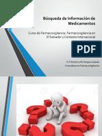 Búsqueda de Información de Medicamentos