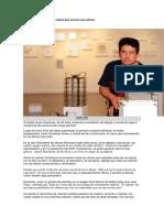 Javier Gavilanes expone obras que evocan sus oficios.docx