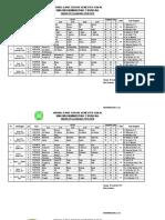 Jadwal UTS Ganjil K-13 2018- 2019