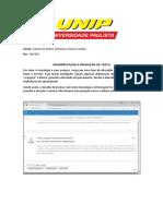 INTERPRETAÇÃO E PRODUÇÃO DE TEXTO PEDAGOGIA resenha e print .docx