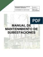 Manual de Mantenimiento de Subestaciones.pdf