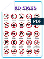 Road signs.docx