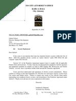 Cease & Desist Letter
