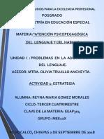 Reyna Gomez. Semana 1