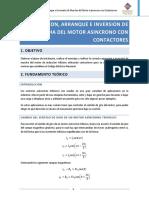 Instalacion, Arranque e Inversion de Marcha Del Motor Asincrono Trfasico Con Contactores
