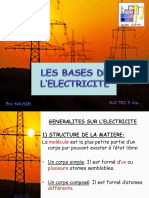 Bases Electricite