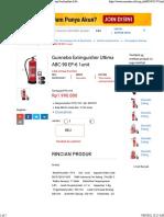 Jual Gunnebo Extinguisher Ultima ABC-90 EP-6 1unit Berkualitas Di Pencegahan Bahaya _ Monotaro.id