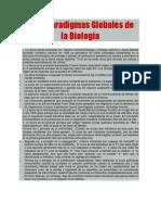 Paradigmas de La Biologia
