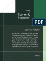 Economic Institution