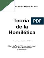 Contenido Curso de Homiletica 2017