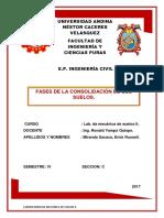 Fases de Consolidacionde de Suelos by Erick Russell Miranda Sacaca