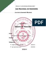 Informe N°1 - Tracción