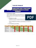 1.0 Plan de Trabajo Cajamarca