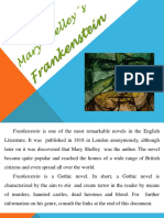 Mary Shelley´s Frankenstein