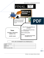 Taller de Excel – Aplicado Nivel Intermedio