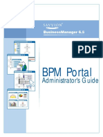 BPM Portal Administrators Guide