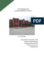 Trabajo - Plan de Emergencia Multifamiliar Los Cocos