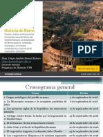 Sesión 3 Los primeros siglos de la República