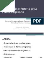 1 Introduccion e Historia de La Farmacovigilancia