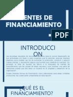 Fuentes de Financiamiento - PPT