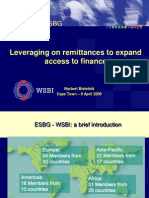 Leveraging Remittances Payments