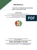 1. Review Proposal Sanitasi 2018