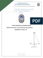 Informe de Laboratorio de Fisica