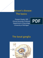 Tues 8-00 Parkinson's Disease- The Basics