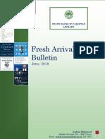 FreshArrivalsBulletin Jun 2018