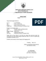 Surat Izin Dari Kepala Puskesmas Purwoharjo