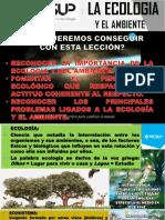 LA ECOLOGIA Y EL AMBIENTE