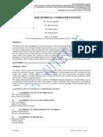FOUR STROKE INTERNAL COMBUSTION ENGIN