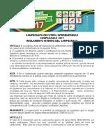 Campeonato 20de 20futbol 20interempresas 20comfacauca 20 2017 20reglamento 20interno 20del 20campeonato