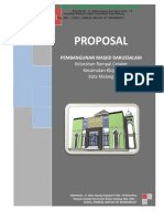 Anzdoc.com Proposal Year Pembangunan Masjid Darussalam Kelura