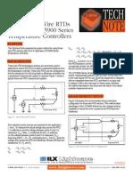 Three-wire RTD LDT-5900 Temperature Controllers